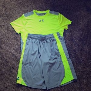 Youth XL Under Armour Outfit